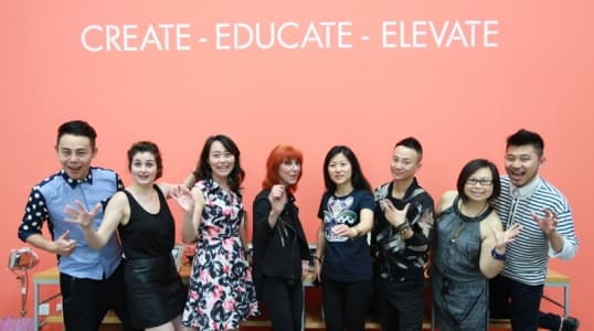 MAKE UP FOR EVER创始人Dany Sanz 中国行